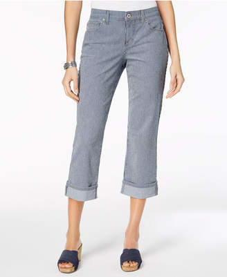 Style&Co. Style & Co Curvy Cuffed Capri Jeans in Regular & Petite Sizes, Created for Macy's