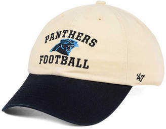 '47 Carolina Panthers Steady Two-Tone Clean Up Cap