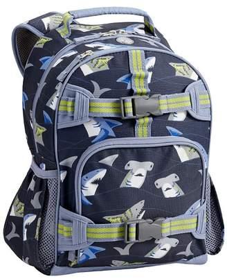 Pottery Barn Kids Mackenzie Navy Blue Sharks Spinner Luggage