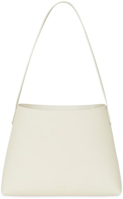 Mansur Gavriel Pebble Small Hobo - Creme