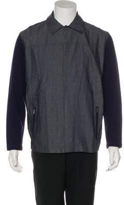 Gianfranco Ferre Woven Contrast Jacket