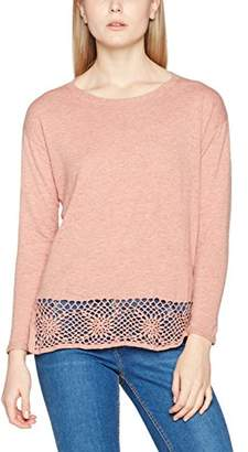 Fat Face Women's Carrie Crochet Jumper