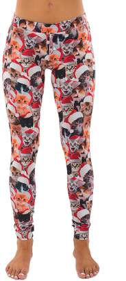 Tipsy Elves Meowy Christmas Leggings