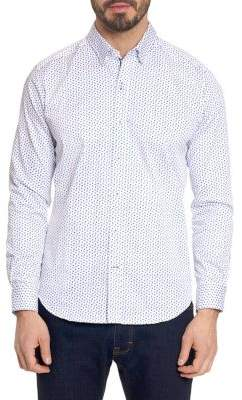 Robert Graham Mitchel Button-Front Shirt