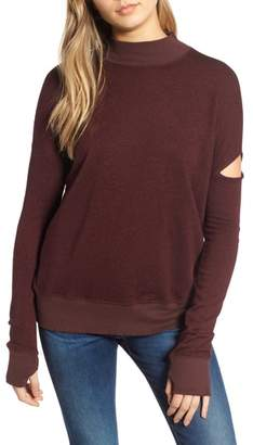 n:PHILANTHROPY Sedro Arm Cutout Sweatshirt