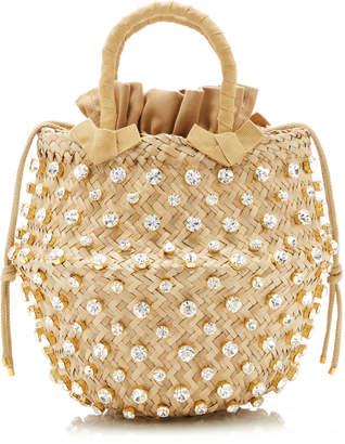 Le Nine Large Nina Gold Basket