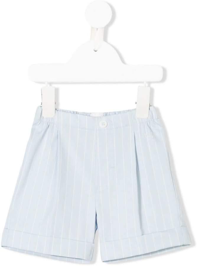 striped smart shorts