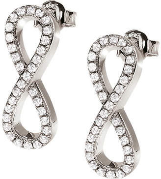 Folli Follie Fashionably Infinity silver-plated earrings