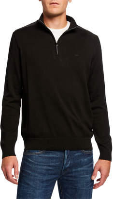 Michael Kors Men's Cotton Zip Pullover