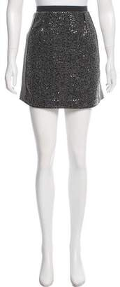 Les Copains Embellished Mini Skirt w/ Tags