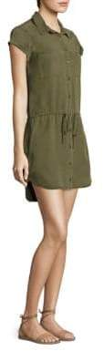 Paige Milar Drawstring Shirtdress