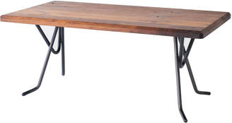Co De Jong & Walnut Mandelbrot Table with Heldon Table Base