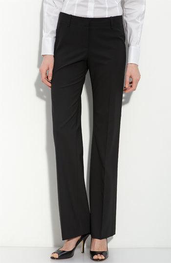 BOSS 'Tulia' Tropical Wool Trousers