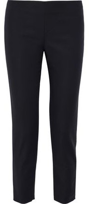 M Missoni Cropped Cotton-Blend Ponte Slim-Leg Pants