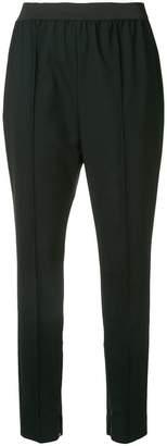Le Ciel Bleu slim-fit tailored trousers