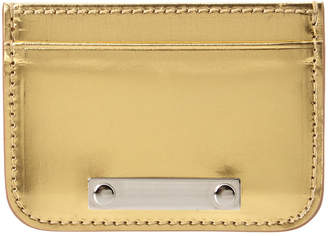 Sophie Hulme Metallic Leather Cardholder