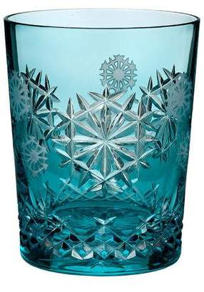 Waterford Crystal Snowflake Wishes Happiness Prestige Edition Double Old-Fashioned, Aqua
