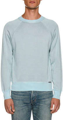 Tom Ford Men's Long-Sleeve Crew Sweater