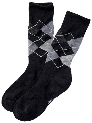 SmartWool Diamond Jim Argyle Crew Socks $20.95 thestylecure.com
