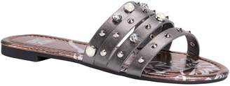 Muk Luks Women's Studded Slip-On Sandals - Lexi