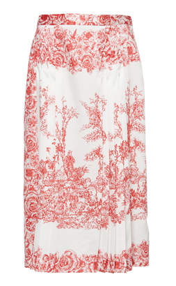 Dondup Pleated Toile Skirt