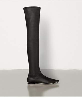 Bottega Veneta Almond Boots In Nappa Dream