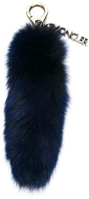 Moncler rabbit fur bag charm