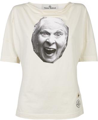 Vivienne Westwood Vivienne T-Shirt Off White Size XS 100% Cotton