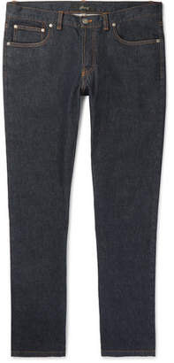 Brioni Slim-Fit Stretch-Denim Jeans