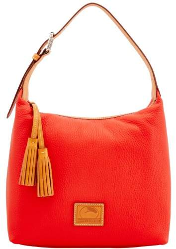 Dooney & Bourke Patterson Leather Paige Sac Shoulder Bag - SALMON - STYLE