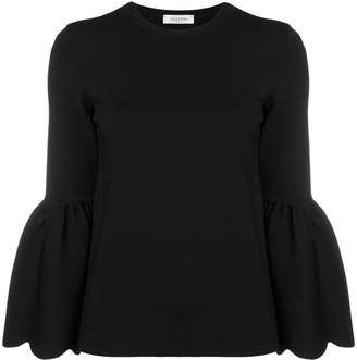 Valentino bell sleeved top