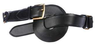 Marc Jacobs Leather Knotted Waist Belt