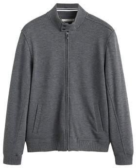MANGO Perkins neck jacket
