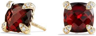 David Yurman 'Chatelaine' Earrings with Semiprecious Stones in 18K Gold