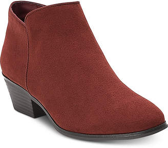 Style&Co. Style & Co Wileyy Ankle Booties, Created for Macy's