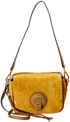 Chloé Indy Leather & Suede Shoulder Bag