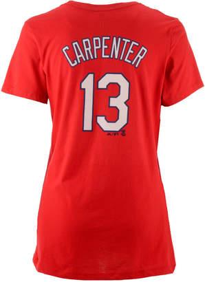 Majestic Women's Matt Carpenter St. Louis Cardinals Crew Player T-Shirt