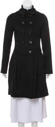 Burberry Wool & Cashmere Double-Breasted Coat