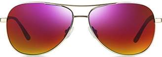 Revo Re 1014 Relay Polarized Aviator Sunglasses