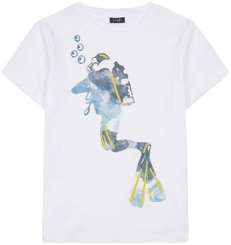 Il Gufo Scuba Diver T-Shirt