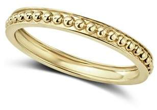 Lagos Caviar Gold Collection 18K Gold Beaded Stacking Ring