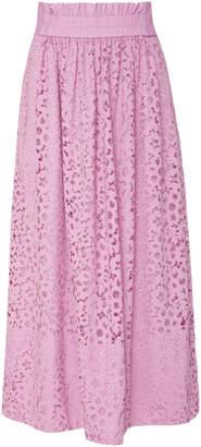 Tibi Lace Full Skirt