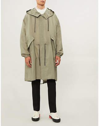 Jil Sander Hooded cotton-jersey parka jacket