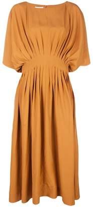 Co pleated waist dress