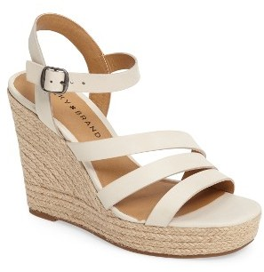 Women's Lucky Brand Latif Espadrille Wedge $88.95 thestylecure.com