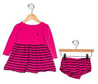 Ralph Lauren Infant Girls' Dress Set