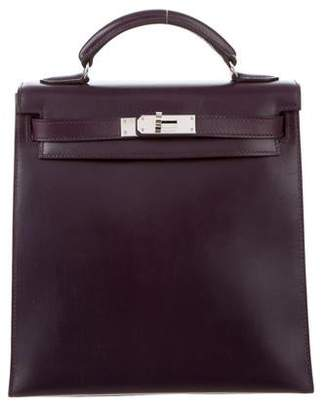 Hermes Box Kelly Ado Backpack