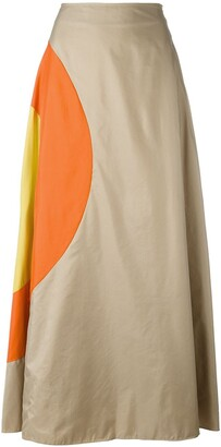 JC de CASTELBAJAC Pre-Owned bulls eye a-line skirt