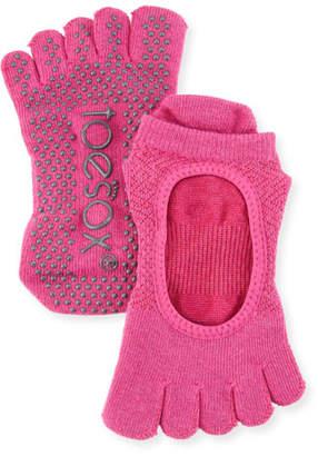 ToeSox Bellarina Ruby Grip Full Toe Athletic Socks