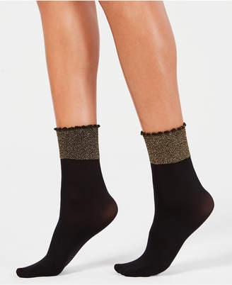 Berkshire Glittery Cuff Anklet Socks